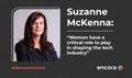 """Suzanne McKenna: """"Las mujeres tienen un papel fundamental en la configuración de la industria tecnológica"""""""