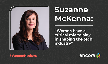 "Suzanne McKenna: ""Women have a critical role to play in shaping the tech industry"""