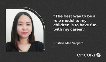 """Kristine Mae Vergara: """"The Best Way to Be a Role Model to My Children Is to Have Fun with My Career"""""""