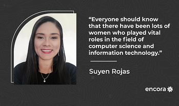 """Suyen Rojas: """"I've Been Mistaken for Someone's Girlfriend While in Fact, I Was the Project Leader."""""""