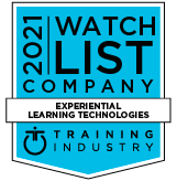 Experiential Learning Technologies Watch List Company by Training Industry, 2021